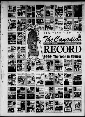 Primary view of object titled 'The Canadian Record (Canadian, Tex.), Vol. 107, No. 1, Ed. 1 Thursday, January 2, 1997'.