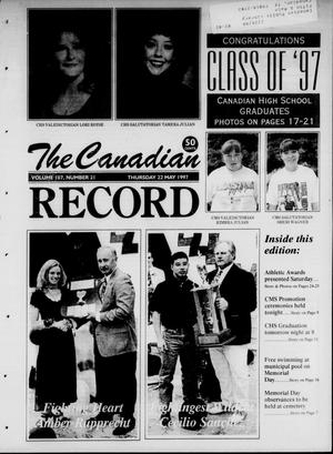 Primary view of object titled 'The Canadian Record (Canadian, Tex.), Vol. 107, No. 21, Ed. 1 Thursday, May 22, 1997'.