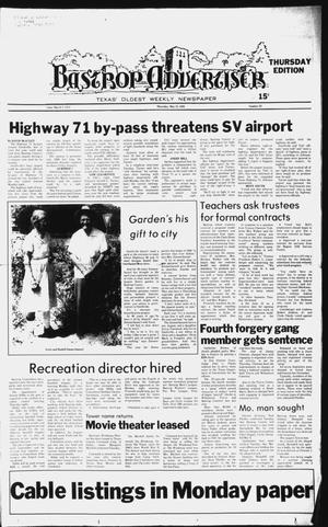 Primary view of object titled 'The Bastrop Advertiser (Bastrop, Tex.), No. 22, Ed. 1 Thursday, May 15, 1980'.