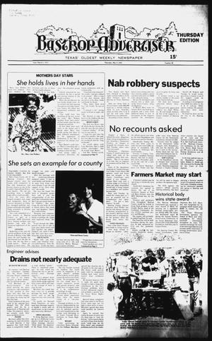 Primary view of object titled 'The Bastrop Advertiser (Bastrop, Tex.), No. 20, Ed. 1 Thursday, May 8, 1980'.