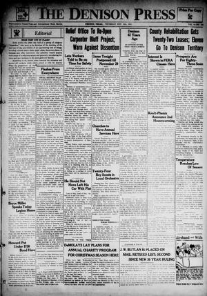 The Denison Press (Denison, Tex.), Vol. 4, No. 139, Ed. 1 Thursday, November 15, 1934