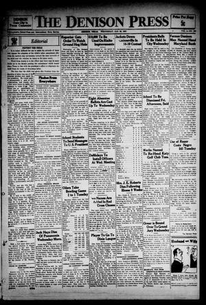 The Denison Press (Denison, Tex.), Vol. 4, No. 202, Ed. 1 Wednesday, January 30, 1935