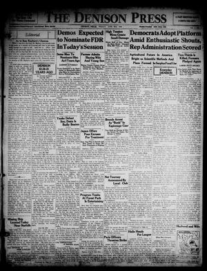 The Denison Press (Denison, Tex.), Vol. 3, No. 5, Ed. 1 Friday, June 26, 1936
