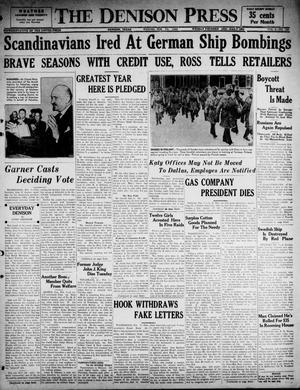 The Denison Press (Denison, Tex.), Vol. 6, No. 192, Ed. 1 Wednesday, February 7, 1940