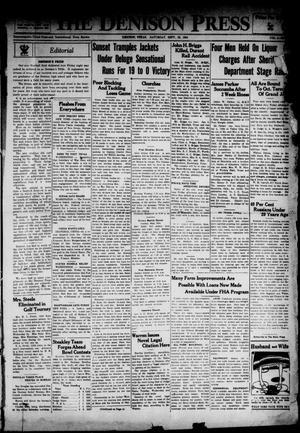 The Denison Press (Denison, Tex.), Vol. 4, No. 97, Ed. 1 Saturday, September 29, 1934
