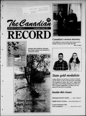 Primary view of object titled 'The Canadian Record (Canadian, Tex.), Vol. 107, No. 19, Ed. 1 Thursday, May 8, 1997'.
