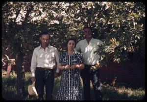 [Watt Matthews, Ethel M. Casey, and Liston Casey]