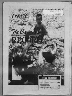 Primary view of object titled 'The Canadian Record (Canadian, Tex.), Vol. 111, No. 27, Ed. 1 Thursday, July 5, 2001'.