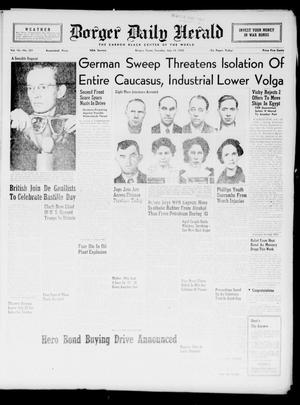 Borger Daily Herald (Borger, Tex.), Vol. 16, No. 201, Ed. 1 Tuesday, July 14, 1942