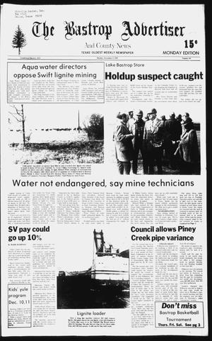 Primary view of object titled 'The Bastrop Advertiser and County News (Bastrop, Tex.), No. 80, Ed. 1 Monday, December 8, 1980'.