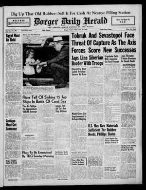 Borger Daily Herald (Borger, Tex.), Vol. 16, No. 180, Ed. 1 Friday, June 19, 1942