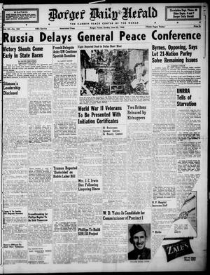 Borger Daily Herald (Borger, Tex.), Vol. 20, No. 180, Ed. 1 Sunday, June 23, 1946