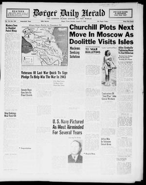 Borger Daily Herald (Borger, Tex.), Vol. 16, No. 230, Ed. 1 Monday, August 17, 1942