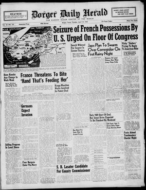 Borger Daily Herald (Borger, Tex.), Vol. 16, No. 123, Ed. 1 Tuesday, April 14, 1942