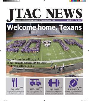 JTAC News (Stephenville, Tex.), Ed. 1 Monday, August 31, 2015