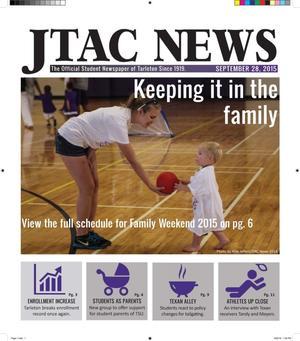 JTAC News (Stephenville, Tex.), Ed. 1 Monday, September 28, 2015