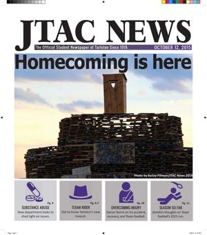 JTAC News (Stephenville, Tex.), Ed. 1 Monday, October 12, 2015