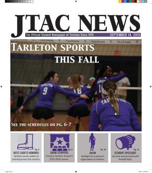 JTAC News (Stephenville, Tex.), Ed. 1 Monday, September 14, 2015