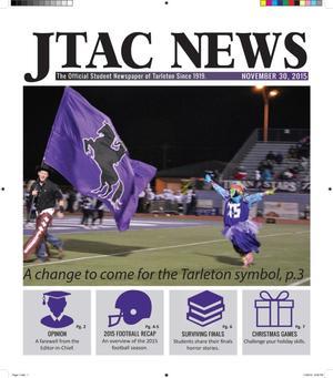 JTAC News (Stephenville, Tex.), Ed. 1 Monday, November 30, 2015