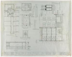 Primary view of object titled 'Weatherford Hotel, Weatherford, Texas: Miscellaneous Details and Cross Sections'.