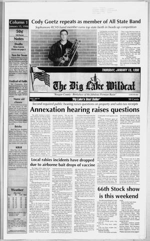 The Big Lake Wildcat (Big Lake, Tex.), Vol. SEVENTY-THIRD YEAR, No. 3, Ed. 1 Thursday, January 15, 1998