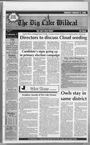 The Big Lake Wildcat (Big Lake, Tex.), Vol. SEVENTY FIRST YEAR, No. 6, Ed. 1 Thursday, February 8, 1996