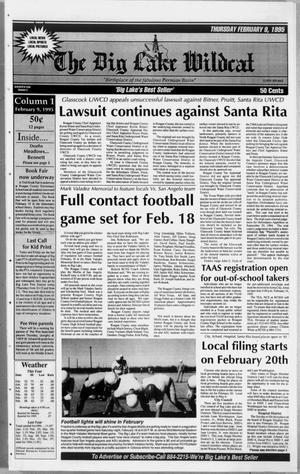 The Big Lake Wildcat (Big Lake, Tex.), Vol. 69, No. 6, Ed. 1 Thursday, February 9, 1995