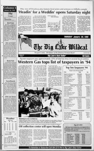 The Big Lake Wildcat (Big Lake, Tex.), Vol. 69, No. 4, Ed. 1 Thursday, January 26, 1995