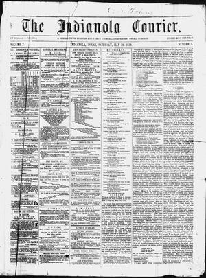 The Indianola Courier. (Indianola, Tex.), Vol. 2, No. 3, Ed. 1 Saturday, May 21, 1859