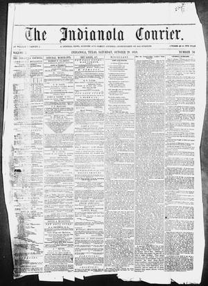 The Indianola Courier. (Indianola, Tex.), Vol. 2, No. 26, Ed. 1 Saturday, October 29, 1859