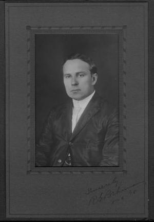 Primary view of object titled '[Photograph of R. G. Brhman]'.
