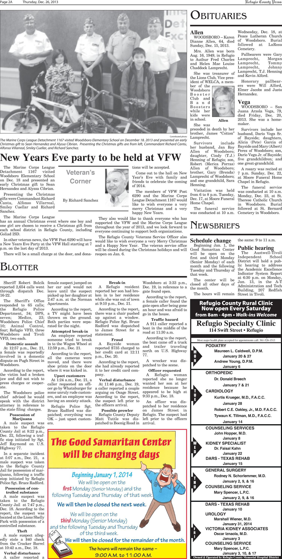 Refugio County Press (Refugio, Tex.), Vol. 54, No. 21, Ed. 1 ...