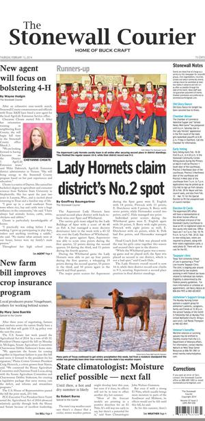 The Stonewall Courier (Aspermont, Tex.), Vol. 27, No. 2, Ed. 1 Thursday, February 13, 2014