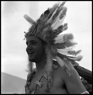 [Man in an Indian Costume]