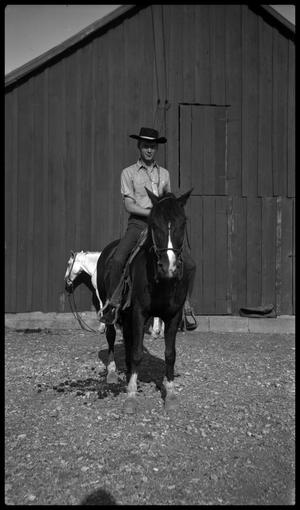 [Young Man on a Horse]