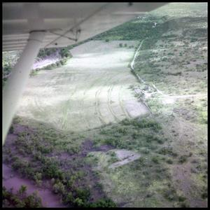 Primary view of object titled '[Aerial View of Ranch Land]'.