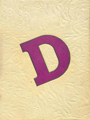 The Bronco, Yearbook of Denton High School, 1947