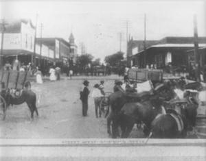 Primary view of object titled '[Downtown Richmond, c. 1911]'.