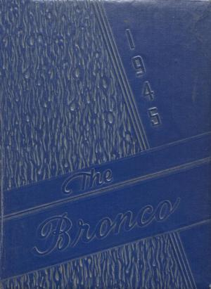 Primary view of object titled 'The Bronco, Yearbook of Denton High School, 1945'.