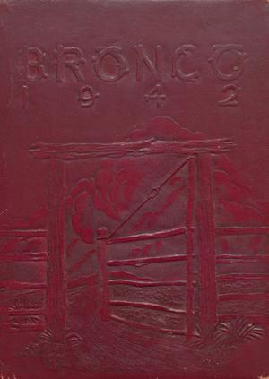 The Bronco, Yearbook of Denton High School, 1942