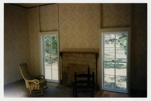 Primary view of [Photograph of Finished Restoration in the Parlor at the Pound House]