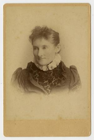 [Portrait of Mittie Pound]