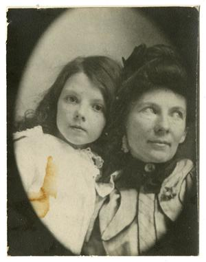 [Portrait of Georgia and Marguerite]