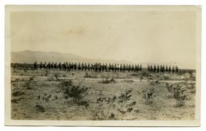 [Photograph of Soldiers Ready for Drill]