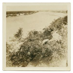 [Photograph Overlooking the River]
