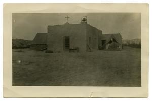 [Photograph of an Old Christian Mission]