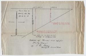 [Map of Parcel of Land for Fritz Saur]