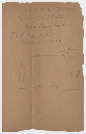 [Two Documents Relating to Land Tracts and Sales]