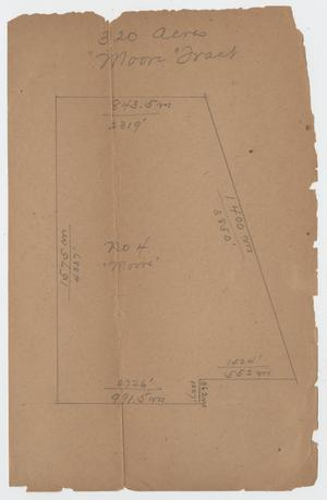 Primary view of object titled '[Assortment of Hand-Drawn Maps of Tracts of Land in Kerr County]'.