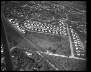 Primary view of object titled 'Aerial view of northeast Austin'.